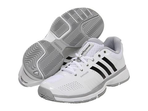 Adidasi adidas - adipowerâ⢠barricade 7.0 W - Running White/Black/Metallic Silver