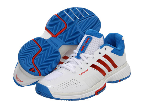 Adidasi adidas - adipowerâ⢠barricade 7.0 W - Running White/Core Energy/Bright Blue