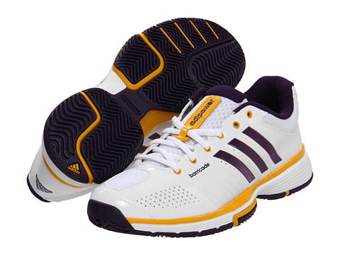 Adidasi adidas - adipowerâ⢠barricade 7.0 W - Running White/Dark Violet/Still Gold