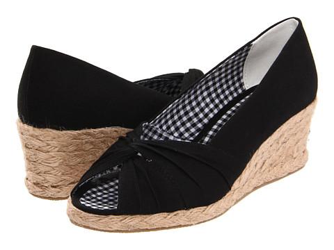 Pantofi Soft Style - Coral Reef II - Black Canvas