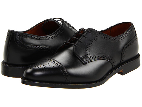 Pantofi Allen-Edmonds - Sanford - Black Custom Calf