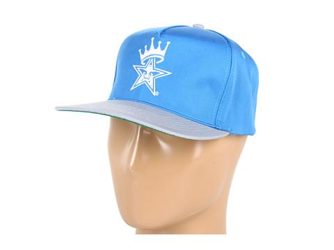 Sepci Obey - Foul Line Snapback Hat - Royal Blue/Grey