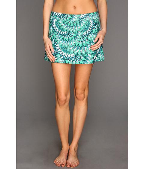Fuste Prana - Sugar Mini Skirt - Turq Flora