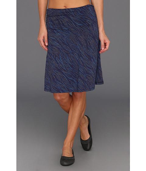 Fuste Horny Toad - Chaka Skirt - Bright Navy Leaves Print