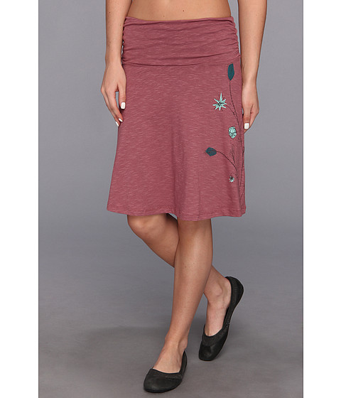 Fuste Horny Toad - Chaka Skirt - Rosewood Placement Print