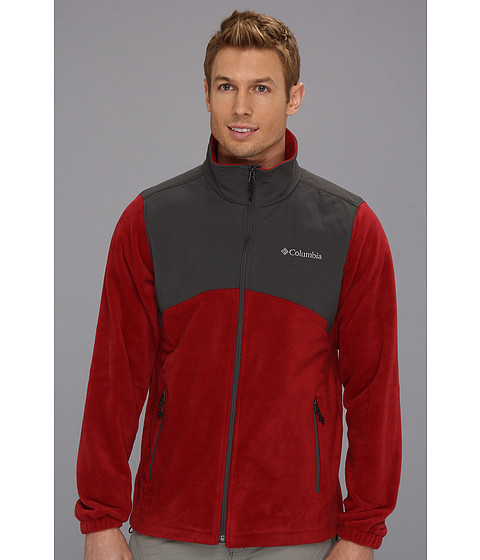 Jachete Columbia - Steens Mountainâ⢠Tech Full Zip - Red Element/Grill