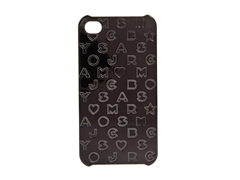 Diverse Marc by Marc Jacobs - Metallic Stardust Logo Phone Case - Black
