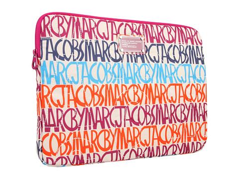 "Diverse Marc by Marc Jacobs - Pretty Nylon Printed 15"" Computer Case - Tapioca Multi"
