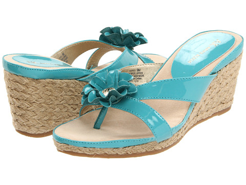 Sandale Anne Klein - Pris - Turquoise Patent