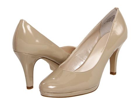 Pantofi Anne Klein - 7Wystere - Light Tan Patent Synthetic