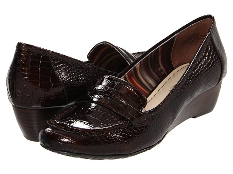 Pantofi Anne Klein - Supper - Brown Synthetic