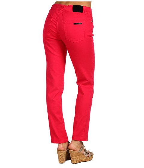 Blugi Anne Klein New York - 2 Pocket Skinny Jean in Rouge - Rouge