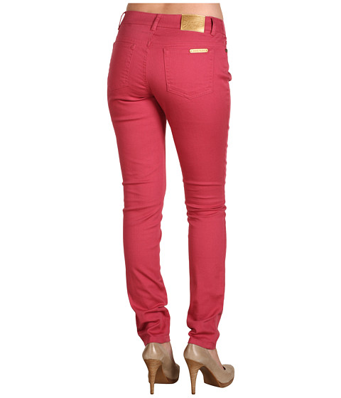 Blugi Anne Klein - Washed Denim Skinny Jeans in Blush - Blush