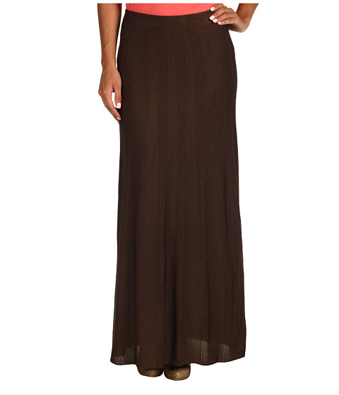Fuste Anne Klein - Floor Length Skirt - Canela
