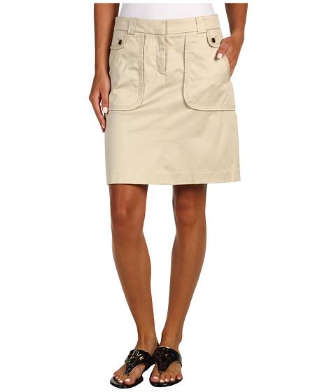 Fuste Anne Klein - Skirt w/ Seam Detail - Pedra