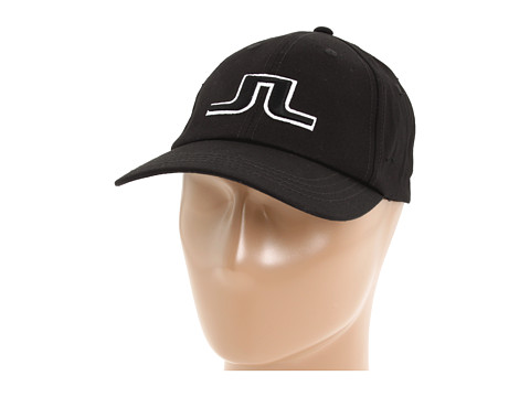 Palarii J. Lindeberg - Bridge Solid Twill Cap - Black
