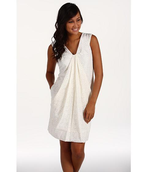 Rochii Anne Klein - Cotton Lace Dress - Sugar