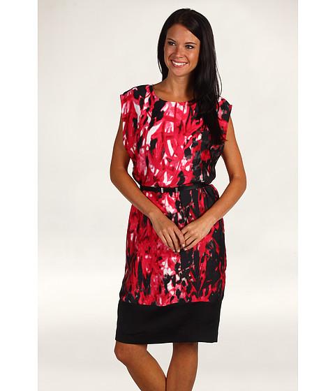 Rochii Anne Klein New York - Rouge Multi Wedge Dress - Multi