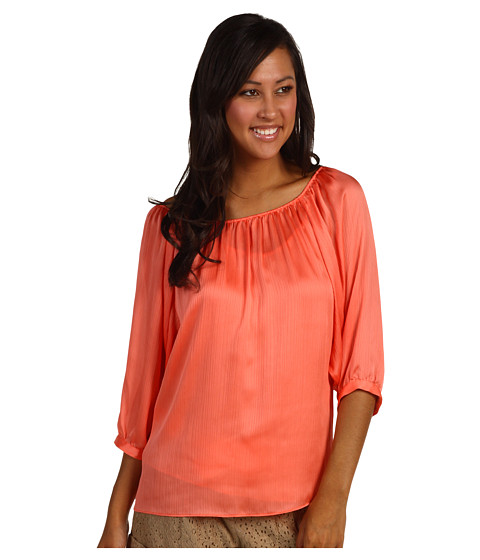 Bluze Anne Klein - Off Shoulder Blouse - Papaya