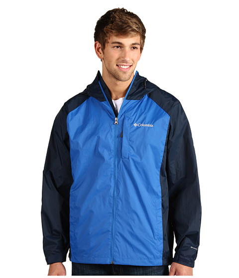 Jachete Columbia - Straight Lineâ⢠Rain Jacket - Blue Jay/Columbia Navy