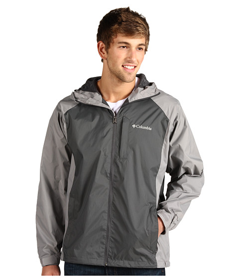 Jachete Columbia - Straight Lineâ⢠Rain Jacket - Grill/Light Grey