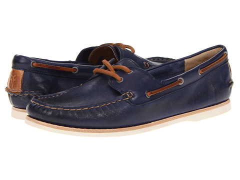 Balerini Frye - Quincy Boat Shoe - Iris Soft Full Grain