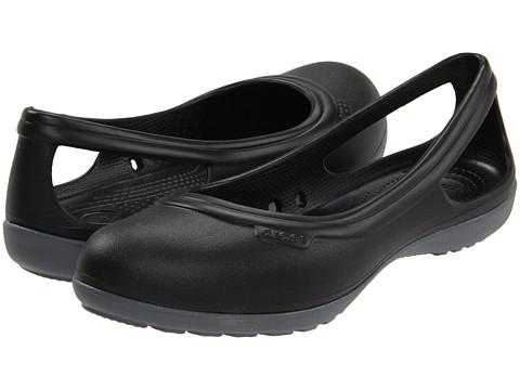 Balerini Crocs - Duet Flat - Black/Charcoal