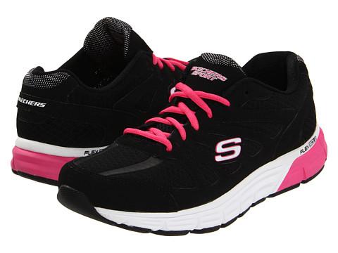 Adidasi SKECHERS - Ace - Black/Hot Pink