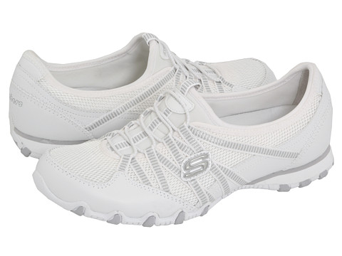 Adidasi SKECHERS - Bikers - Hot Ticket - White