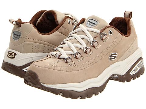 Adidasi SKECHERS - Premium - Stone/Brown