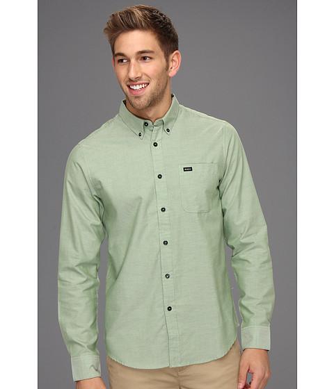 Tricouri RVCA - That\ll Do Oxford L/S Shirt - Cactus