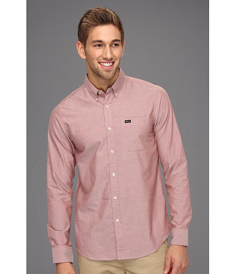 Tricouri RVCA - That\ll Do Oxford L/S Shirt - Henna