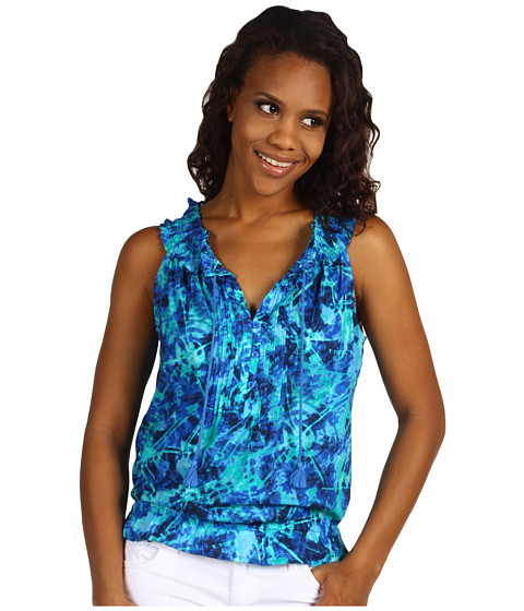 Tricouri Jones New York - Pintucked Sleeveless Top - Multi