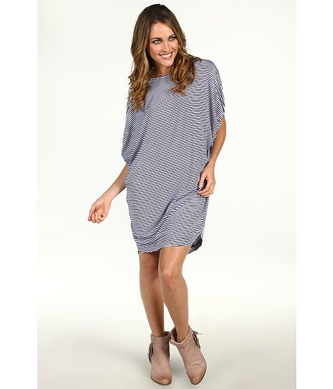 Rochii Christin Michaels - Zamora Dress - Blue Stripe