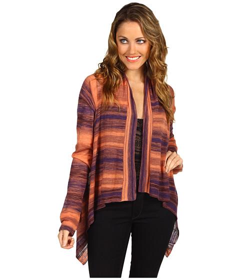 Bluze BCBGMAXAZRIA - Space Dyed Striped Cardigan - Apricot Mist