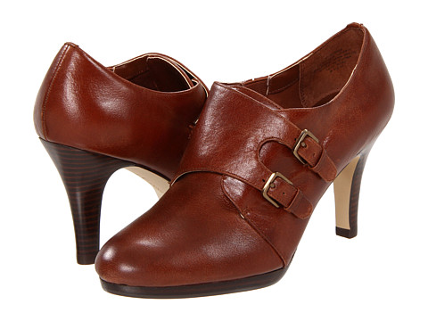 Pantofi Anne Klein - Winka - Cognac Leather