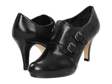 Pantofi Anne Klein - Winka - Black Leather