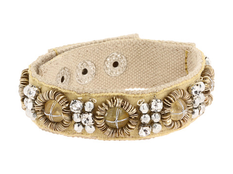 Bijuterii Juicy Couture - Wanderlust Embellished Wrap Bracelet - Tan