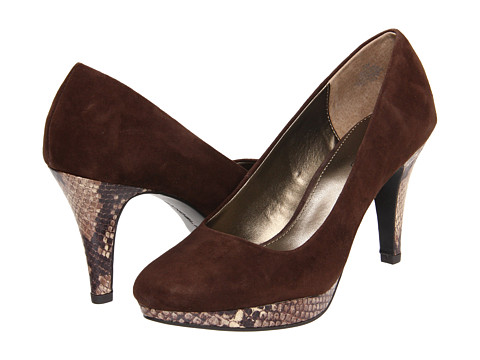 Pantofi Bandolino - Capture 5 - Brown Suede