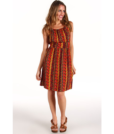 Rochii Lucky Brand - Summer Nights Jordana Dress - Red Multi
