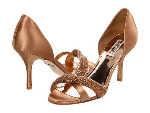 Pantofi Badgley Mischka - Ryanne - Natural Satin