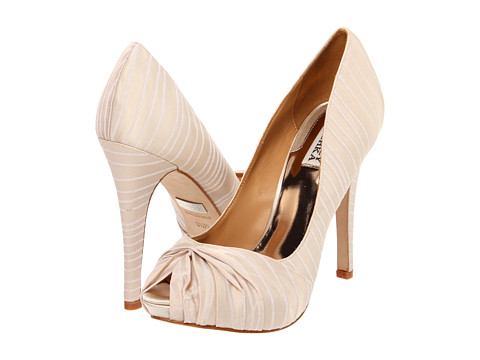 Pantofi Badgley Mischka - Ryba - Cream Stripe
