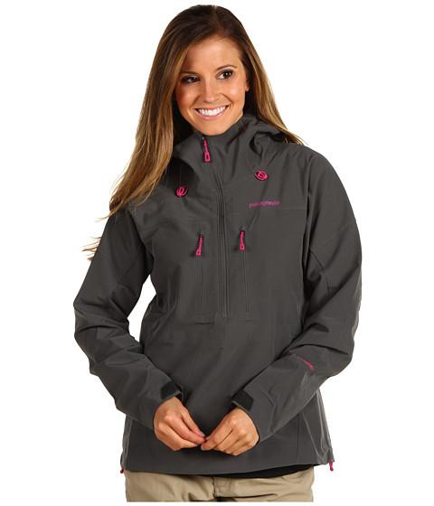 Jachete Patagonia - Knifeblade Pullover - Forge Grey w/Rubellite Pink