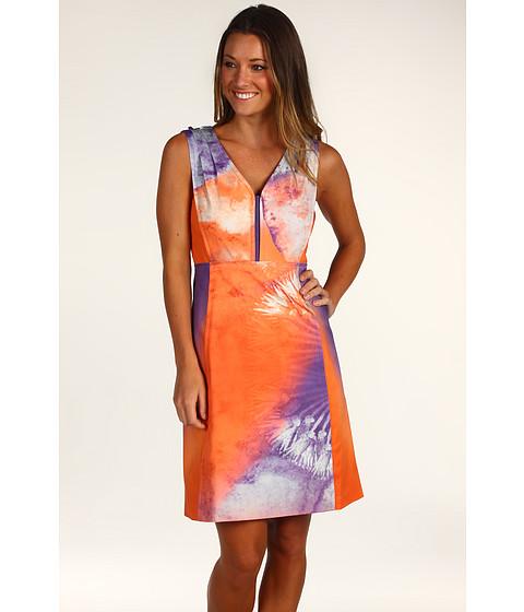 Rochii Elie Tahari - Chelsea Dress - Orange Cateye