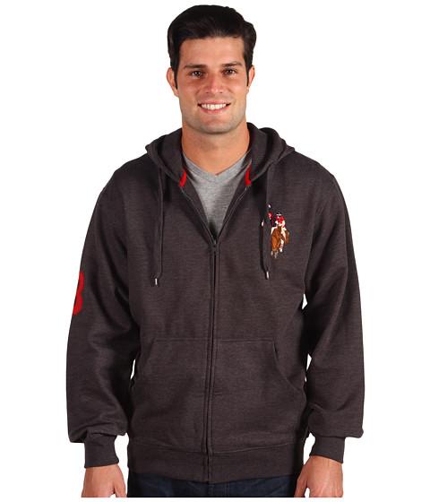 Bluze U.S. Polo Assn - Multi PP Hoodie - Dark Grey Heather