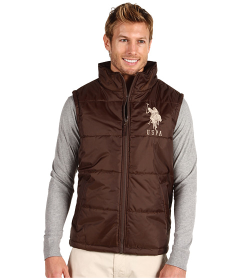 Jachete U.S. Polo Assn - Big Pony Vest - Dark Brown