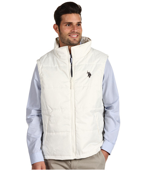Jachete U.S. Polo Assn - Small Pony Vest - Winter White