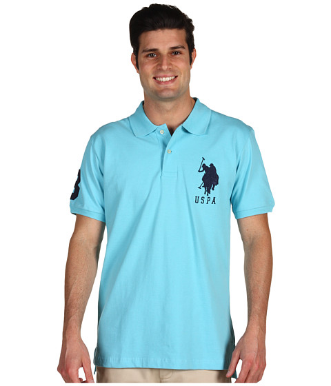 Tricouri U.S. Polo Assn - Big Pony Polo - Horizon Blue