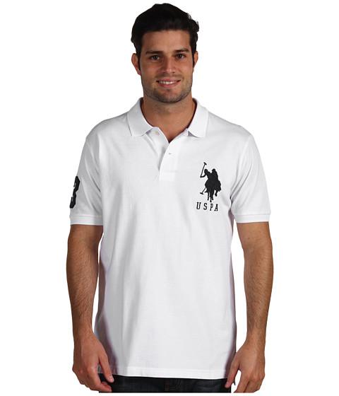 Tricouri U.S. Polo Assn - Big Pony Polo II - White