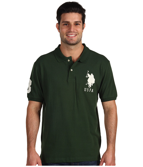 Tricouri U.S. Polo Assn - Big Pony Polo II - Winter Pine Green